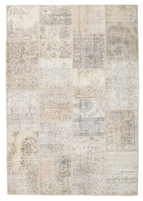 Patchwork Rug 158X231 Authentic  Modern Handknotted Light Grey/Light Brown (Wool, Turkey)