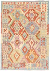 Kilim Afghan Old style rug MXK309