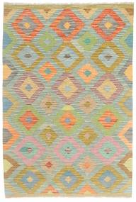 Kilim Afghan Old style rug MXK293