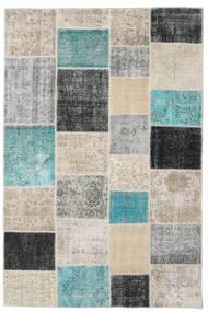 パッチワーク 絨毯 197X300 モダン 手織り 薄い灰色/濃いグレー (ウール, トルコ)
