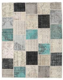 Patchwork Rug 197X251 Authentic  Modern Handknotted Light Grey/Dark Grey (Wool, Turkey)