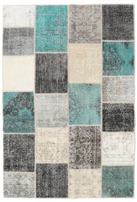 Patchwork Rug 158X233 Authentic  Modern Handknotted Light Grey/Beige (Wool, Turkey)