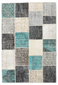 Patchwork Rug 159X232 Authentic  Modern Handknotted Light Grey/Dark Beige (Wool, Turkey)