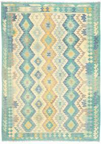 Kilim Afghan Old style rug MXK116