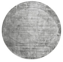 Broadway - Misty Grey Rug Ø 300 Modern Round Light Grey/Dark Grey Large ( India)