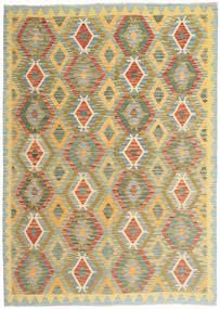 Kelim Afghan Old Style Matto 169X239 Itämainen Käsinkudottu Vaaleanruskea/Vaaleanharmaa (Villa, Afganistan)