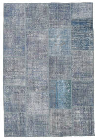 Patchwork Rug 158X234 Authentic  Modern Handknotted Light Blue/Light Grey (Wool, Turkey)