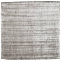 Broadway - Soft Grey Rug 250X250 Modern Square Light Grey/Beige Large ( India)