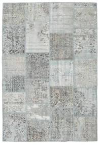 Patchwork Rug 160X232 Authentic  Modern Handknotted Light Grey (Wool, Turkey)