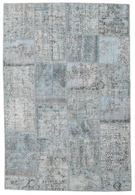 Patchwork Rug 157X232 Authentic  Modern Handknotted Light Grey (Wool, Turkey)