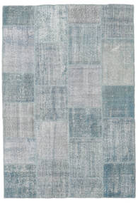 Patchwork Rug 159X232 Authentic  Modern Handknotted Light Grey (Wool, Turkey)
