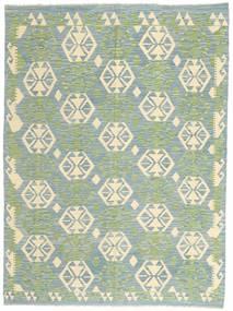 Kilim Afgan Old Style Dywan 174X230 Orientalny Tkany Ręcznie Jasnoszary/Beżowy (Wełna, Afganistan)