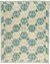 Kilim Afghan Old Style Rug 179X231 Authentic  Oriental Handwoven Light Grey/Pastel Green (Wool, Afghanistan)