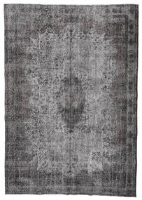 Colored Vintage Rug 197X282 Authentic  Modern Handknotted Dark Grey/Light Grey (Wool, Turkey)