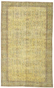 Colored Vintage Rug 167X274 Authentic  Modern Handknotted Light Green/Yellow (Wool, Turkey)