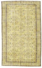 カラード ヴィンテージ 絨毯 174X287 モダン 手織り 黄色/ライトグリーン (ウール, トルコ)