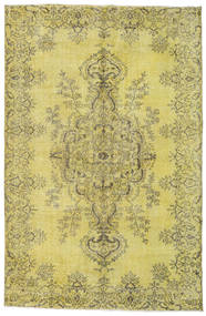Colored Vintage Rug 175X269 Authentic  Modern Handknotted Yellow/Olive Green/Light Green (Wool, Turkey)