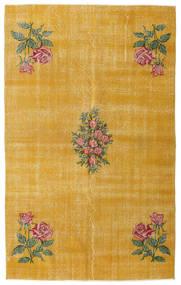 Colored Vintage Teppe 155X250 Ekte Moderne Håndknyttet Lysbrun/Gul (Ull, Tyrkia)