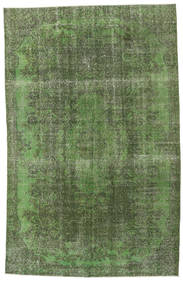 Colored Vintage Rug 173X267 Authentic  Modern Handknotted Dark Green/Olive Green (Wool, Turkey)