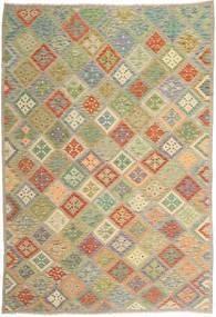 Kilim Afghan Old style carpet MXK377