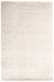 Grace Rug 200X300 Authentic  Modern Handknotted White/Creme/Light Grey ( India)