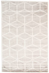 Facets Rug 200X300 Authentic  Modern Handknotted White/Creme/Beige ( India)