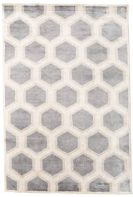 Lounge Rug 250X350 Authentic  Modern Handknotted White/Creme/Light Grey Large ( India)