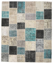 Patchwork Rug 250X302 Authentic Modern Handknotted Light Grey/Light Brown Large (Wool, Turkey)