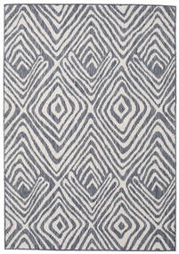Savanna - Dark Blue/Light Grey Rug 200X300 Modern Light Grey/Light Purple ( Turkey)