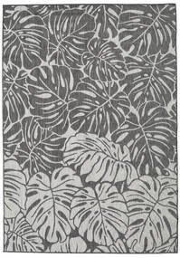 Monstera - Dark Grey / Light Grey rug RVD20576