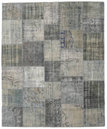 Patchwork Rug 248X302 Authentic  Modern Handknotted Dark Grey/Light Grey (Wool, Turkey)