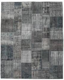 Patchwork Rug 242X300 Authentic  Modern Handknotted Dark Grey/Light Grey (Wool, Turkey)