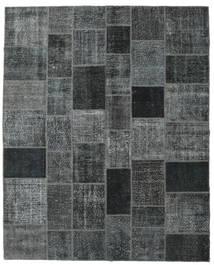 Patchwork Rug 246X304 Authentic  Modern Handknotted Dark Grey/Light Grey/Dark Blue (Wool, Turkey)