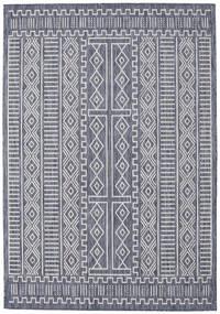 Peru - Mörkblå / Beige matta RVD20559