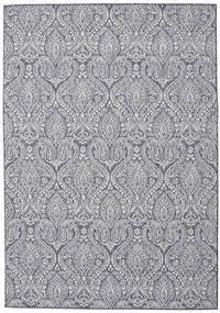 Palace - Tummansininen/Beige Matto 120X180 Moderni Vaaleanharmaa/Vaaleanvioletti ( Turkki)