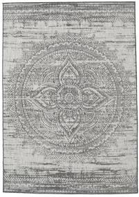 Mandala - Σκούρο γκρι / Μπεζ χαλι RVD20621