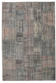 パッチワーク 絨毯 205X306 モダン 手織り 濃いグレー/薄い灰色 (ウール, トルコ)