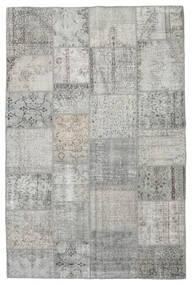 パッチワーク 絨毯 197X298 モダン 手織り 薄い灰色 (ウール, トルコ)