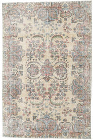 Taspinar Rug 204X310 Authentic  Oriental Handknotted Light Grey/Light Brown (Wool, Turkey)