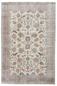 Taspinar Rug 202X306 Authentic  Oriental Handknotted Light Grey/Light Brown (Wool, Turkey)