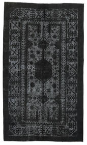 Colored Vintage Relief Rug 148X253 Authentic  Modern Handknotted Black/Dark Grey (Wool, Turkey)
