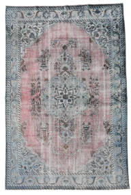 Colored Vintage Relief Rug 190X285 Authentic  Modern Handknotted Dark Grey/Light Grey (Wool, Turkey)