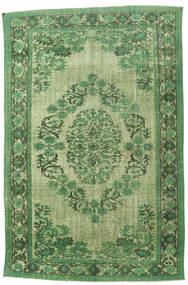 Colored Vintage Relief Rug 228X340 Authentic  Modern Handknotted Olive Green/Light Green (Wool, Turkey)