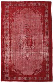 カラード ヴィンテージ Relief 絨毯 208X326 モダン 手織り 深紅色の/錆色 (ウール, トルコ)