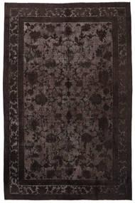 カラード ヴィンテージ Relief 絨毯 208X325 モダン 手織り 濃い茶色/薄茶色 (ウール, トルコ)