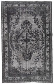 Colored Vintage Relief Rug 176X278 Authentic  Modern Handknotted Dark Grey/Light Grey (Wool, Turkey)
