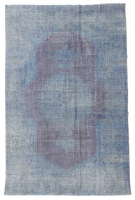 Colored Vintage Rug 210X324 Authentic  Modern Handknotted Light Blue/Light Purple (Wool, Turkey)