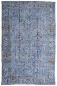 Colored Vintage Rug 207X320 Authentic  Modern Handknotted Light Blue/Light Purple (Wool, Turkey)