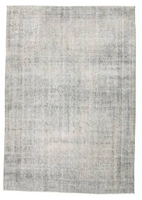 Colored Vintage Rug 210X300 Authentic  Modern Handknotted Light Grey/Dark Beige (Wool, Turkey)