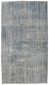 カラード ヴィンテージ 絨毯 190X338 モダン 手織り 薄い灰色/濃いグレー (ウール, トルコ)